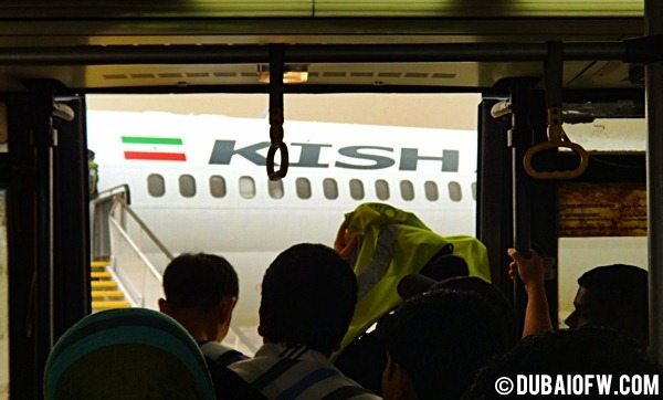 Planned Exit to Kish Island