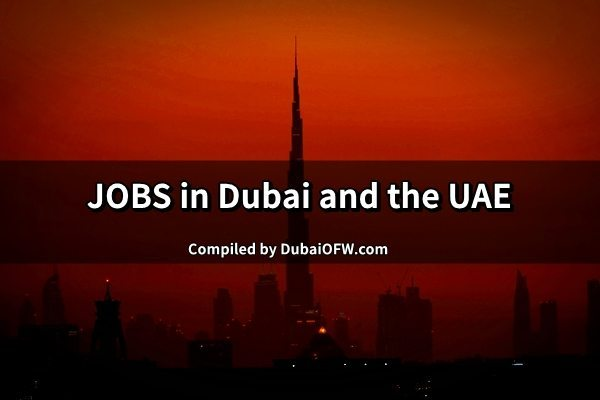 jobs in dubai