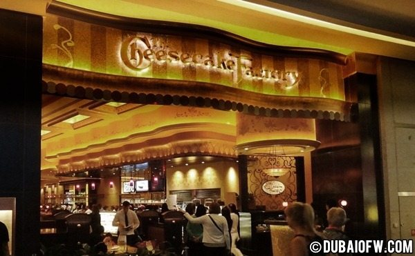 the cheesecake factory restaurant