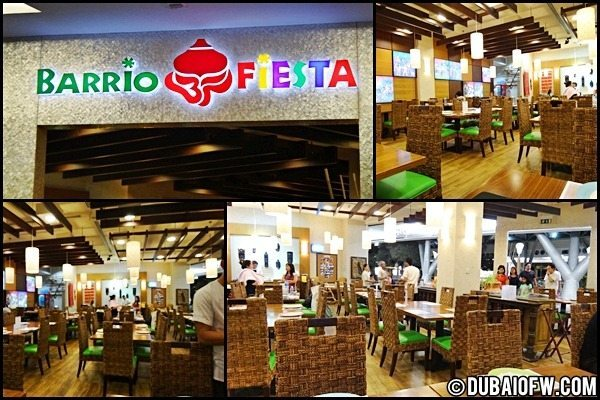 Barrio Fiesta Filipino Food in Dubai – Burjuman Center