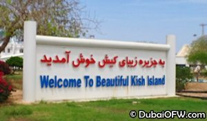 beautiful kish island