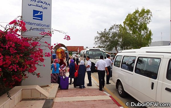 kish island shuttle bus