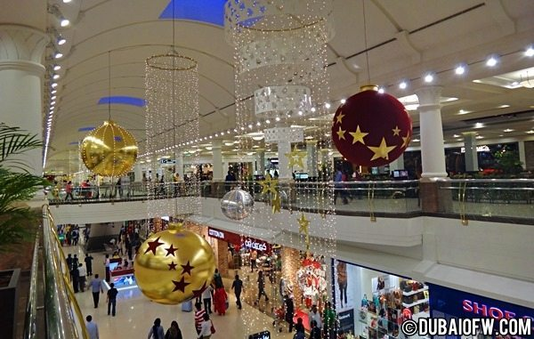 Christmas in Dubai and Dubai Shopping Festival