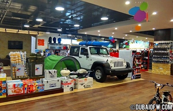 adventure shop dubai