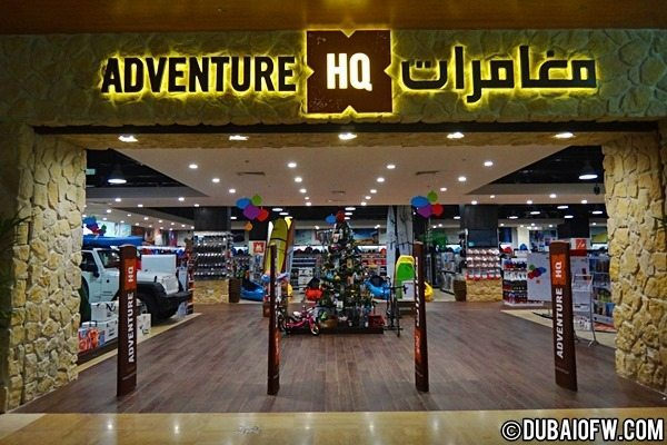 Adventure HQ Shop for Adventure Geeks in Dubai