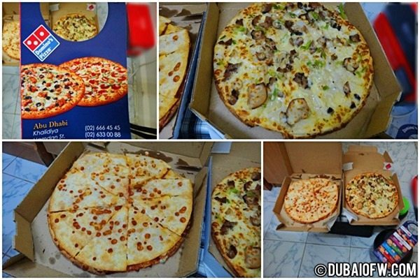 Domino's Pizza Treat for Midnight Snacks