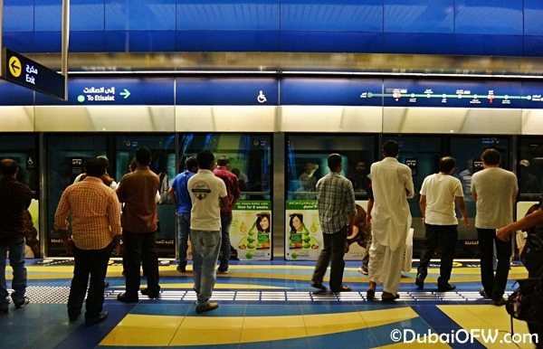 RTA Metro Stations in Dubai