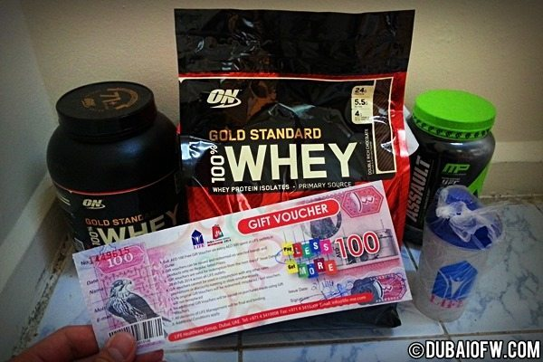 Optimum Nutrition Whey Protein Supplement in Dubai