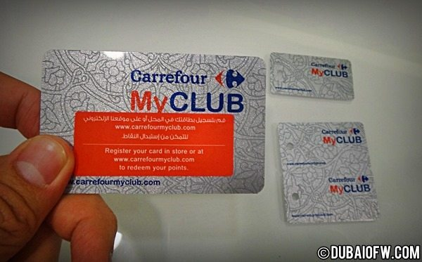 Grocery with Carrefour MyClub Reward Card