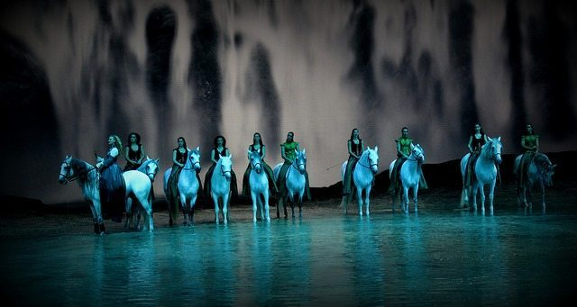 Cavalia Show at Qasr Al Hosn Fort in Abu Dhabi
