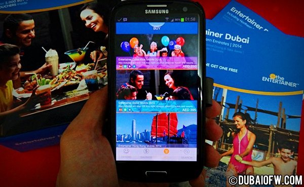 Dubai Entertainer Mobile App on Your Smartphone!