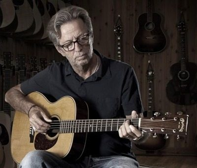 Eric Clapton in Dubai on 6 March 2014