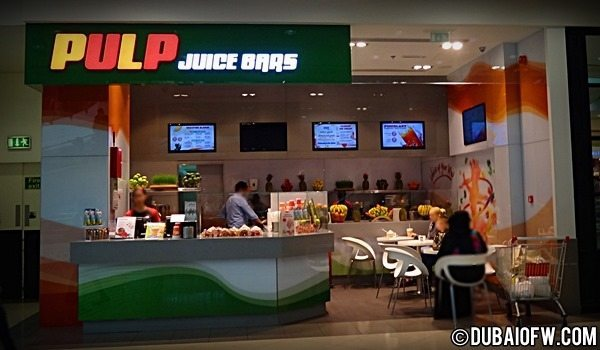 Pulp Juice Bars for Fruit Juices and Shakes