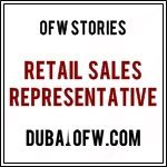 Retail Sales Representative in Dubai