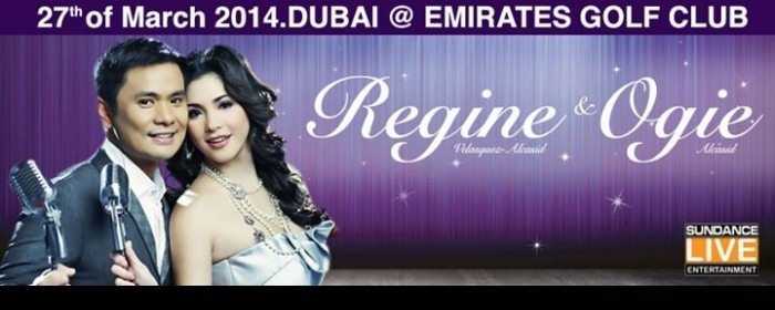 Regine and Ogie Live in Dubai – Mar 27, 2014