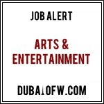 Arts & Entertainment jobs in dubai
