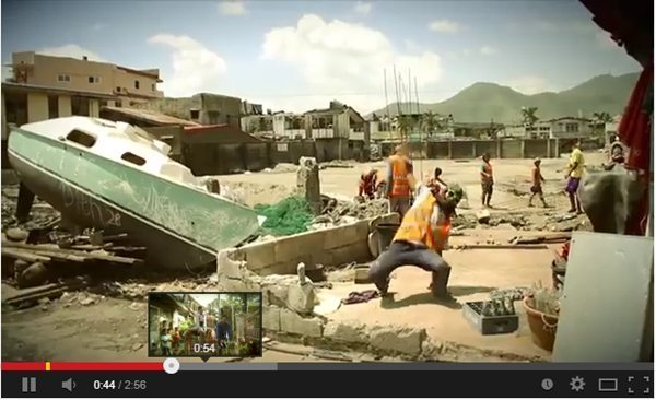 """Happy"" Video of Philippines after Typhoon Haiyan"