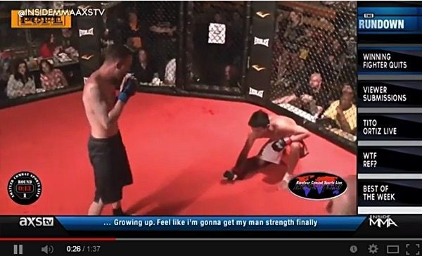 Pinoy MMA Fighter Taps Out to Save Opponent–Video