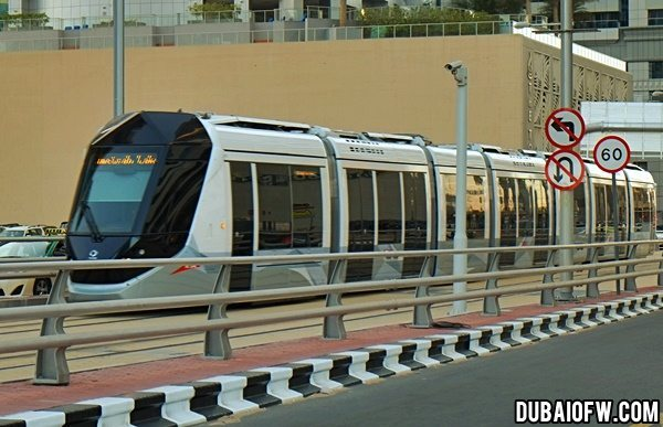 tram in dubai