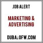 Marketing & Advertising jobs in dubai