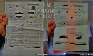 UAE-work contract dubai