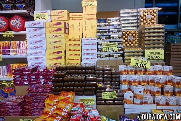 Baqer Mohebi Supermarket: Where to Buy Cheap Chocolates in Dubai