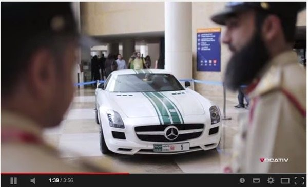 World's Fastest Police Cars Only in Dubai – Video