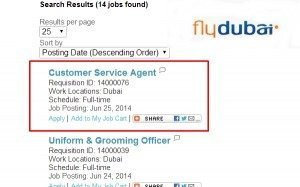 flydubai call center hiring