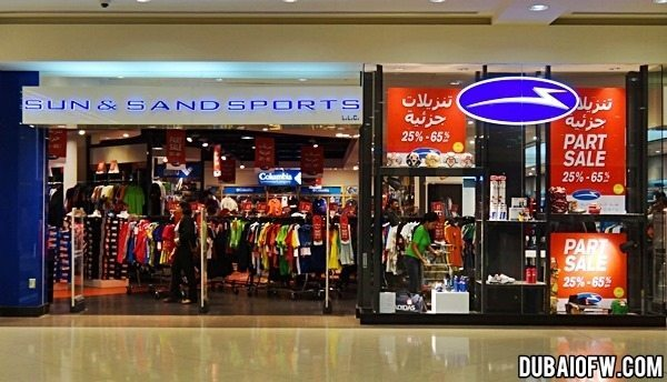 sun and sands shop dubai