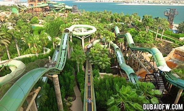 Aquaventure Waterpark: Water Adventure in Atlantis, The Palm