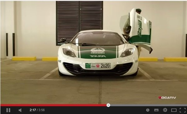 worlds fastest police cars dubai