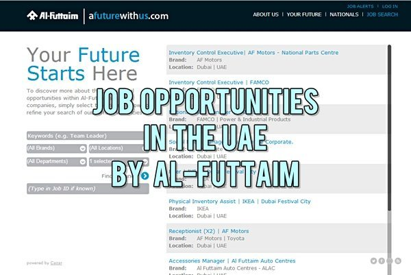 Al Futtaim UAE Job Careers 2014