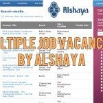 Alshaya Job Openings UAE 2014