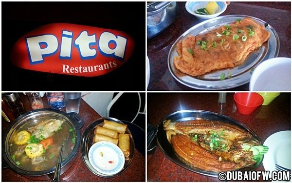 Pita Restaurant: Filipino Food near Burjuman Station