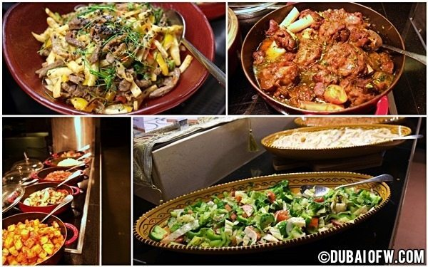 food at na3na3 resto dubai