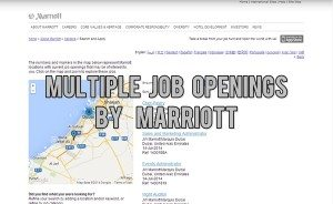 marriott dubai careers