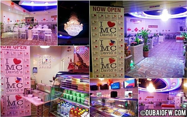 mcdavids pinoy food dubai