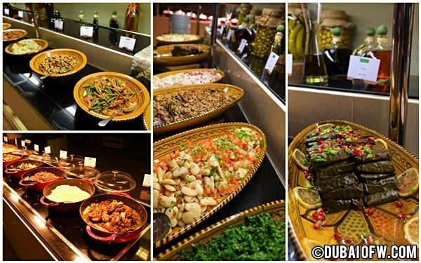 Na3Na3 Restaurant's Iftar Buffet at The Address Dubai Mall