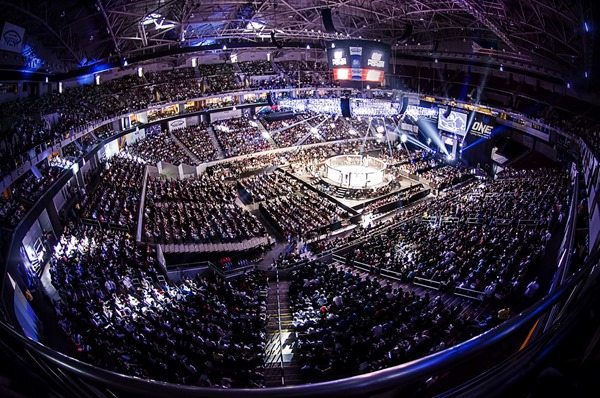 Packed out ONE FC stadium