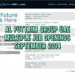 Al-Futtaim Job Vacancies in Dubai September 2014