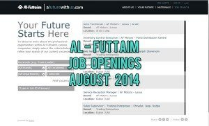 al-futtaim job opportunities august 2014