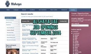 alshaya uae jobs