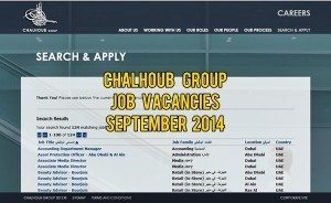 chalhoub group careers 2014