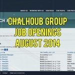 Chalhoub Group Job Opportunities August 2014