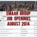 Emaar Group Job Opportunities August 2014