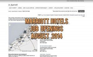 marriott dubai jobs