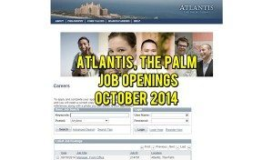 atlantis the palm careers