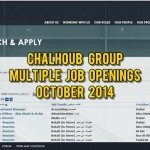 chalhoub group jobs oct 2014