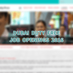 Dubai Duty Free Job Vacancies 2016