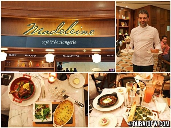 Chef Sebastian Torres Visits Madeleine Cafe and Boulangerie